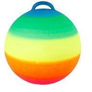 Ugrálólabda szivárvány színű - Ugráló
