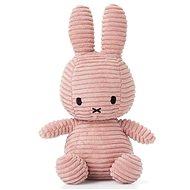 Miffy Corduroy dark pink 24 cm - Plüssjáték