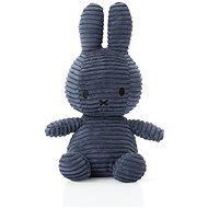 Miffy Corduroy dark blue - Plüssjáték