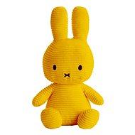 Miffy Sitting Corduroy Yellow - Plüssjáték