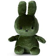 Miffy Sitting Velvet Moss Green - Plüssjáték