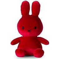 Miffy Sitting Velvet Candy Red - Plüssjáték