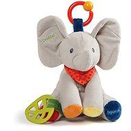 Gund Flappy, a kiselefánt csörgőkkel 22 cm - Plüssjáték