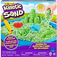 Kinetikus homokvár - zöld - Kinetikus homok