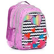 Anna Purple Hearts 2 az 1-ben - Iskolatáska