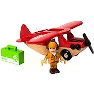 Brio 33963 Szafari repülőgép - Kisvasút