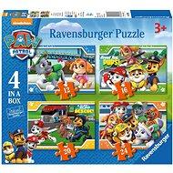 Ravensburger 069361 A Mancs őrjárat 4 az 1-ben - Puzzle
