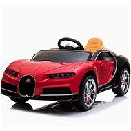 Bugatti Chiron - piros - Elektromos autó gyerekeknek