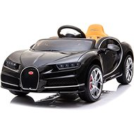 Bugatti Chiron - fekete - Elektromos autó gyerekeknek