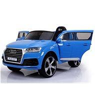 Audi Q7 - kék lakkozott - Elektromos autó gyerekeknek