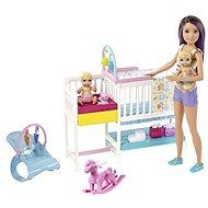 Barbie Skipper Babaszoba játékkészlet - Baba