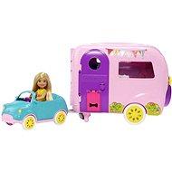 Barbie Chelsea lakókocsival - Játékbaba