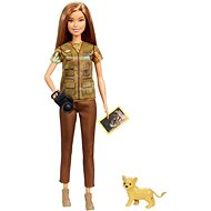 Barbie National Geographic oroszlán kölyökkel - Baba