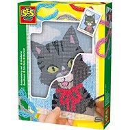 SES Hímzőkészlet gyerekeknek - cica - Kreatív szett