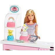 Barbie Cukrászda játékkészlet - Baba
