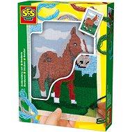 SES Hímzőkészlet gyerekeknek - ló - Kreatív szett