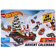 Hot Wheels Adventi naptár - Játékszett