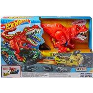Hot Wheels City Dühöngő T-Rex - Játék szett