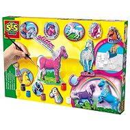 SES lovak öntése és festése - Kreatív szett