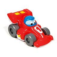 Játékautó Clementoni hátrahúzható versenyautó - Auto