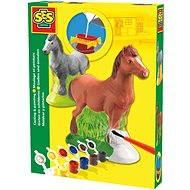 SES ló gipszöntő - Kreatív szett