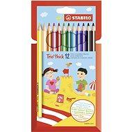 Stabilo Trio thick színes ceruza készlet 12 db - Színes ceruzák