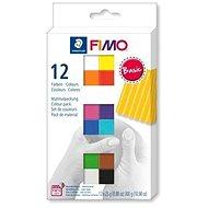 Fimo soft készlet 12 szín Basic - Gyurma