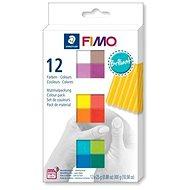 Fimo soft készlet 12 színben Brilliant - Gyurma