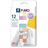 Fimo soft készlet 12 szín Pastel - Gyurma