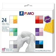 Fimo Efekt készlet 24 szín - Gyurma