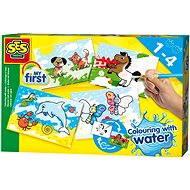 SES Ecset és vízfesték készlet - Kreatív szett