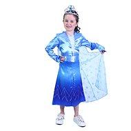 Rappa Kék Tél hercegnő S-es méret - Gyerekjelmez