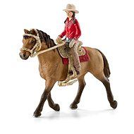 Schleich 42112 Nyugati lovas lóháton - Figurák