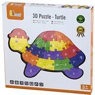 3D puzzle - Teknős - Fajáték