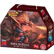 3D puzzle Sárkányok 3 az 1-ben - Puzzle