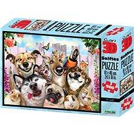 3D Puzzle Kutya szelfi 500 darabos - Puzzle