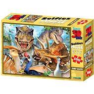 Puzzle Dino szelfi 100 darabos - Puzzle