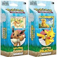 Pokémon TCG: Let's Play Pikachu/Eevee PCD (2/8) - Kártyajáték