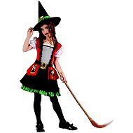 Farsangi ruha - boszorkány - Gyerekjelmez
