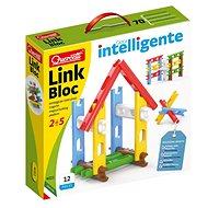Quercetti Link Bloc - varázslatos építőjáték - Építőjáték