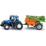 SIKU Super – traktor műtrágyaszóróval - Fémmodell