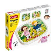 Quercetti Dressy Baby magnetic dress-up puzzle - mágneses puzzle - Kreatív szett