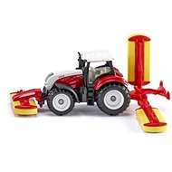 SIKU Blister – Steyr traktor kaszálóval - Fémmodell