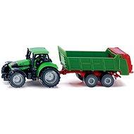 SIKU Univerzális Ipari Traktor - Fémmodell