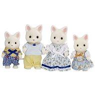 Sylvanian Families Selyem cica család - Figurák