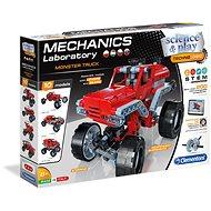 Clementoni Monster Truck mechanikai laboratórium, 10 modell - Csináld magad készlet gyerekeknek