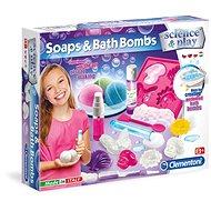 Clementoni Szappanok és fürdőbombák - Csináld magad készlet gyerekeknek