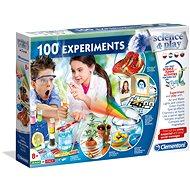 Clementoni 100 tudományos kísérlet - Csináld magad készlet gyerekeknek