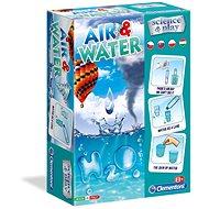 Kreatív szett Clementoni Kísérletek vízzel és levegővel