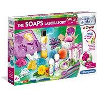 Clementoni Szappan laboratórium - Csináld magad készlet gyerekeknek